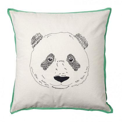 MimiLou Tête de Panda Coussin