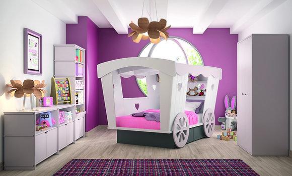Mathy By Bols Roulotte lit enfant
