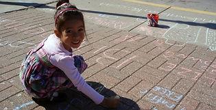 GDAP Sidewalk Chalk Public Engagement 1