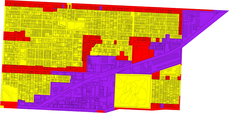 Lykins Neighborhood Zoning Map