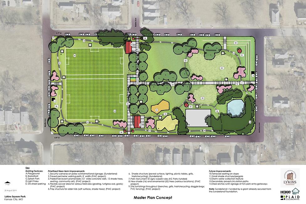 Lykins Park Master Plan