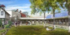 Chatham University Campus Commons and Student Center Rendering
