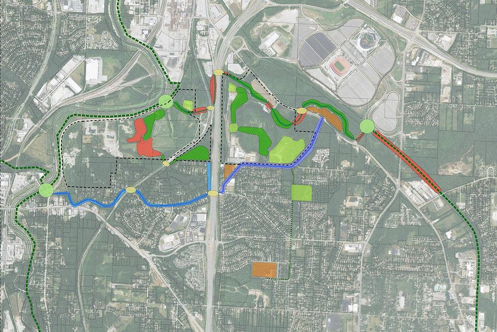MARC GI Phase 2 Rock Island Corridor Strategies Map