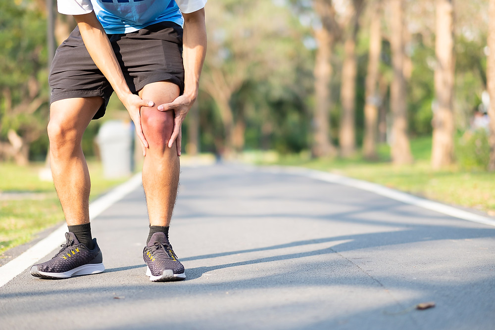 Artrose e/ou lesões de joelhos