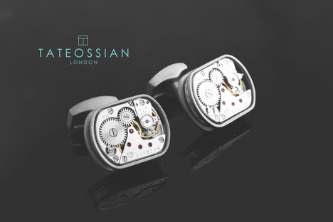 Tateossian cufflinks poster .