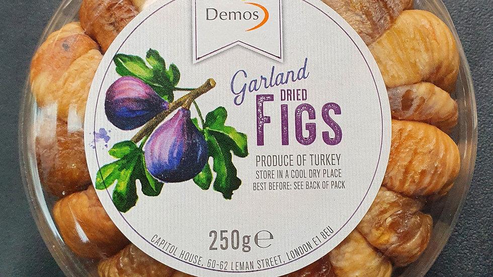 Garland dried figs 250g