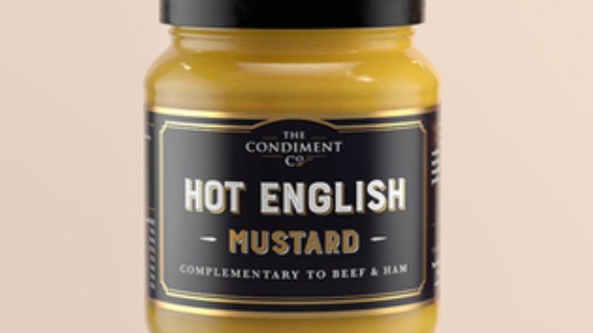 Hot English Mustard 175g