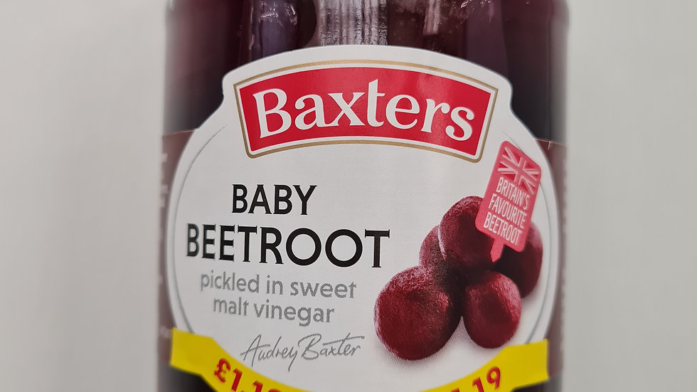 Batters Baby beetroot 340g