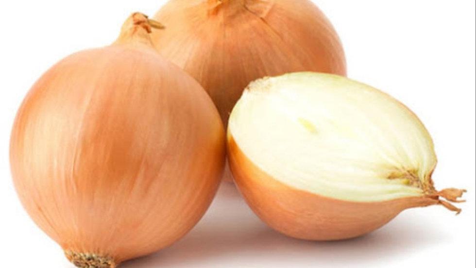 Loose white onions x6