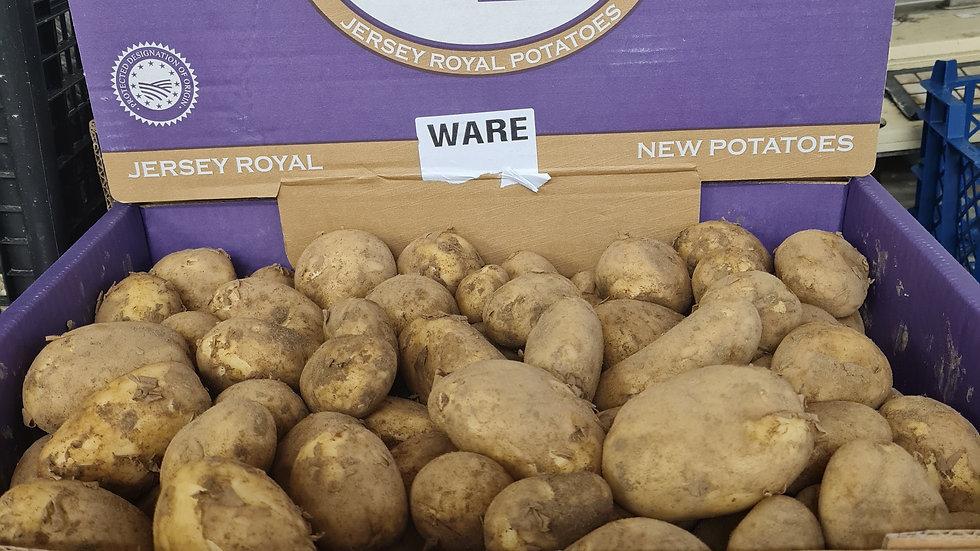 Jersey Royal Potatoes x 1kg