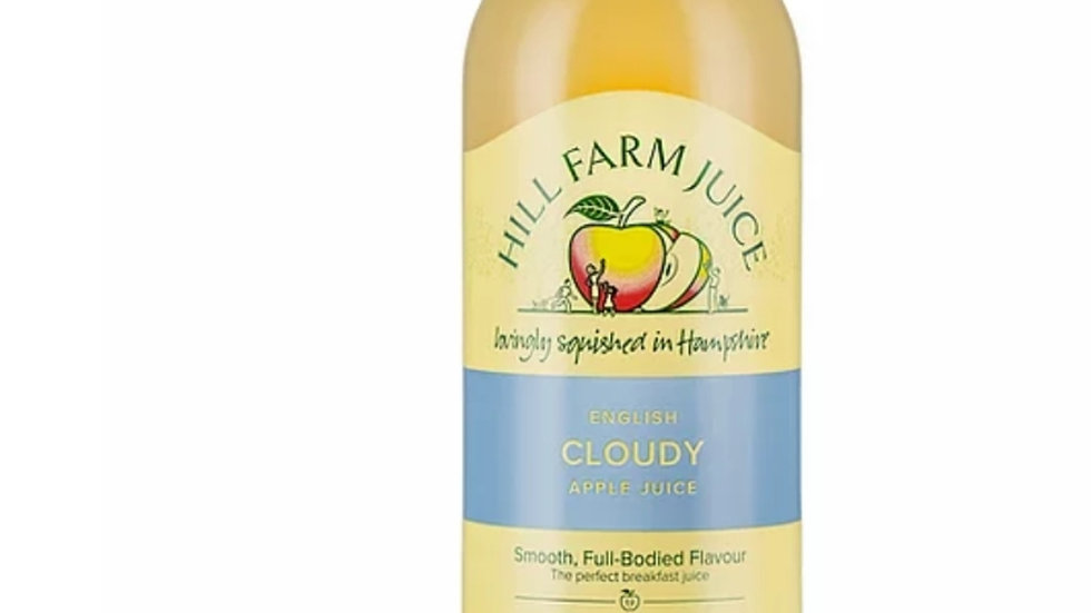 Cloudy apple juice 750ml x1