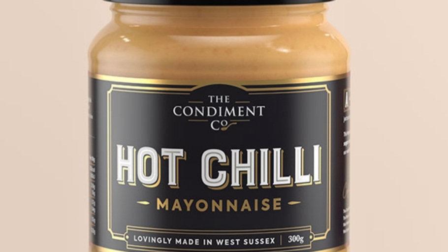 Hot chilli and garlic mayonnaise 300g
