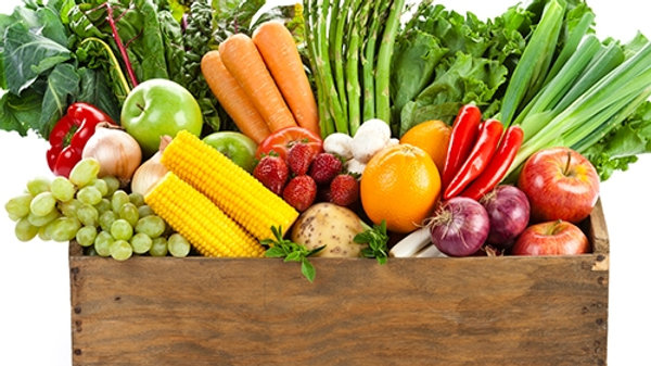 Fruit, Vegetables and Salad Box