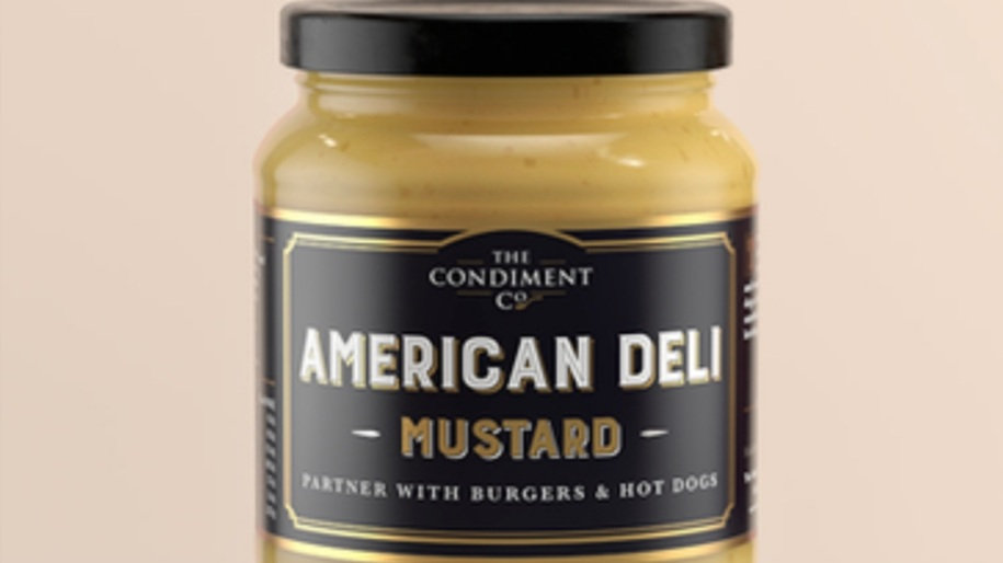 American deli style Mustard 175g