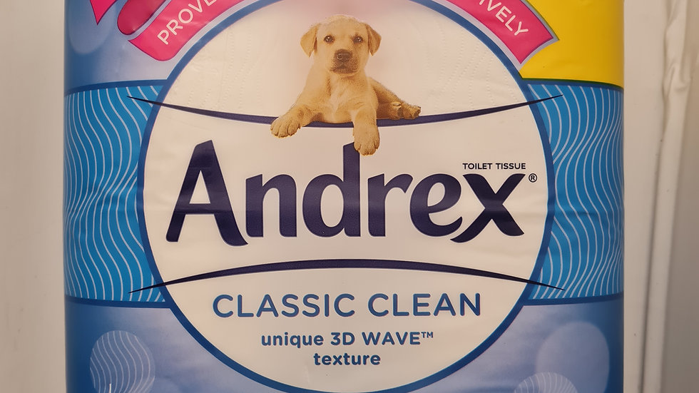 Andrew toilet roll 4 pack