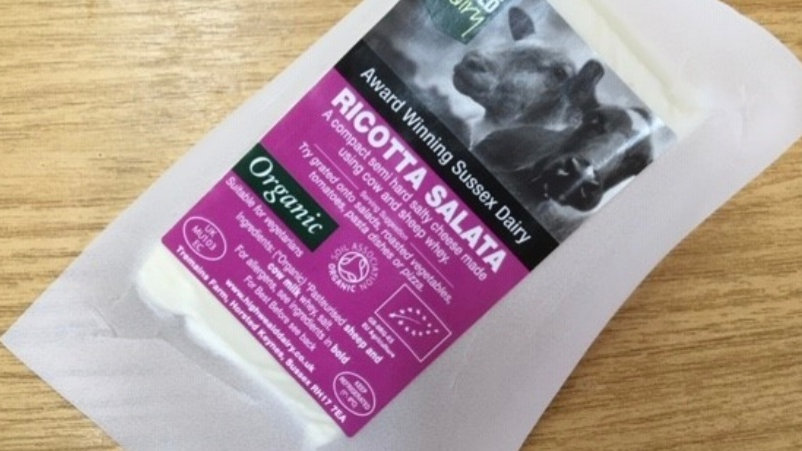 Ricotta salata organic 150g