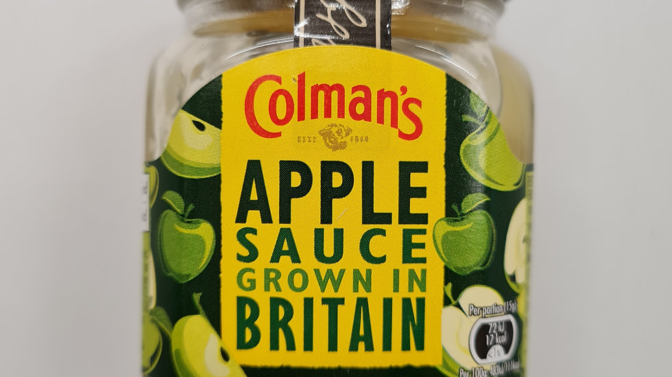 Coleman apple sauce 155g