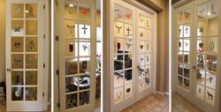 Southwestern Glass Door Paintings