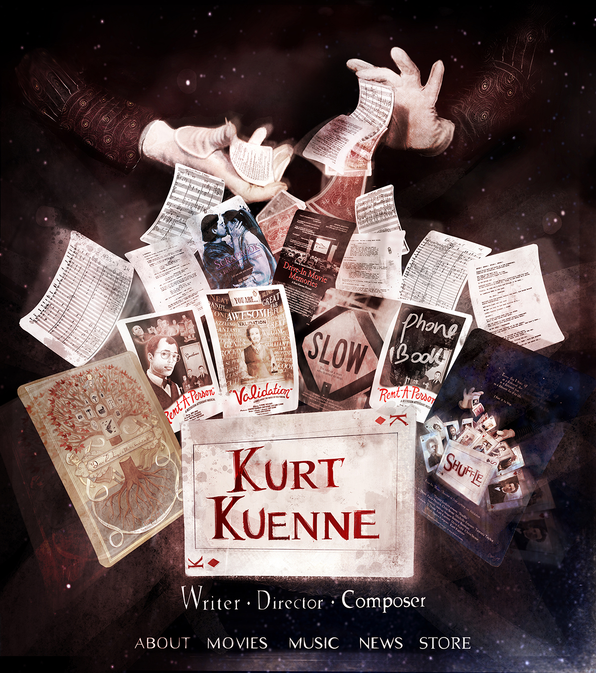 Kurt Kuenne's Website