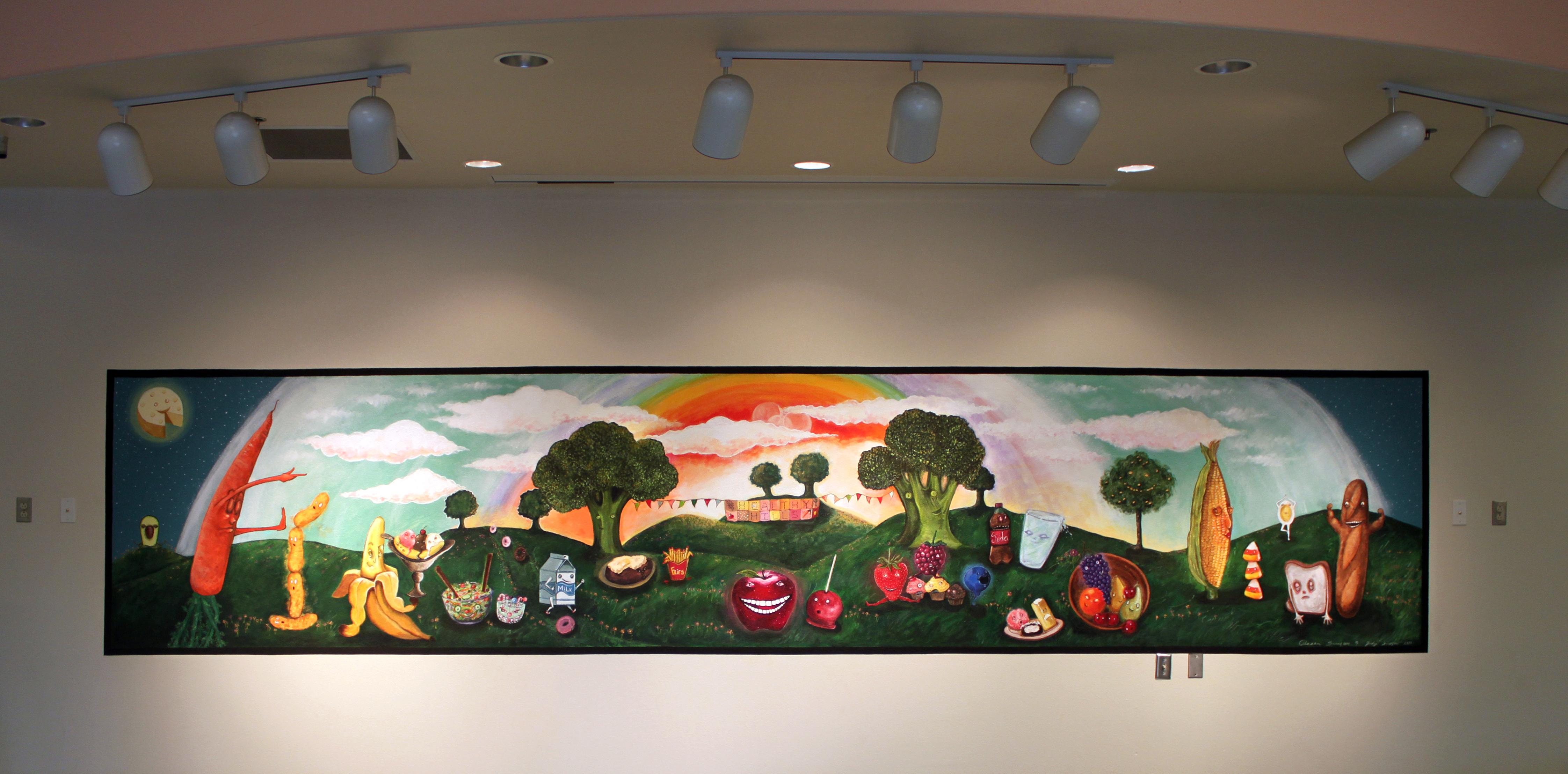 Healthy Hills Mural