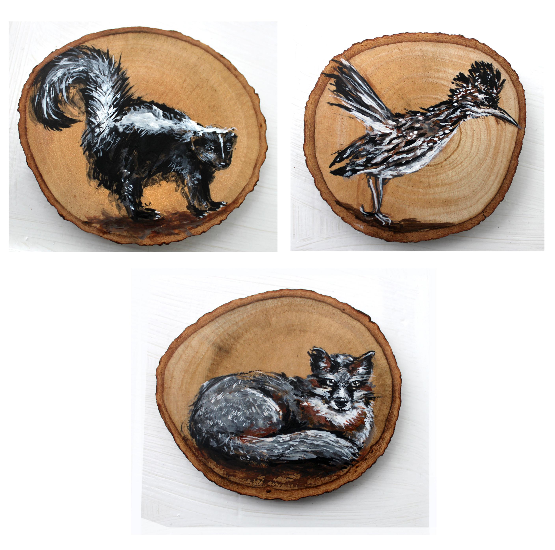 Southwestern Animal Coasters