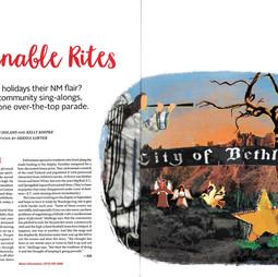 New Mexico Magazine Spread