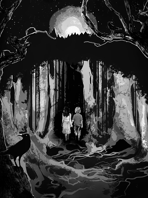 Print- Into the Woods