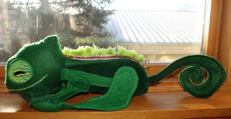Murphy the Chameleon