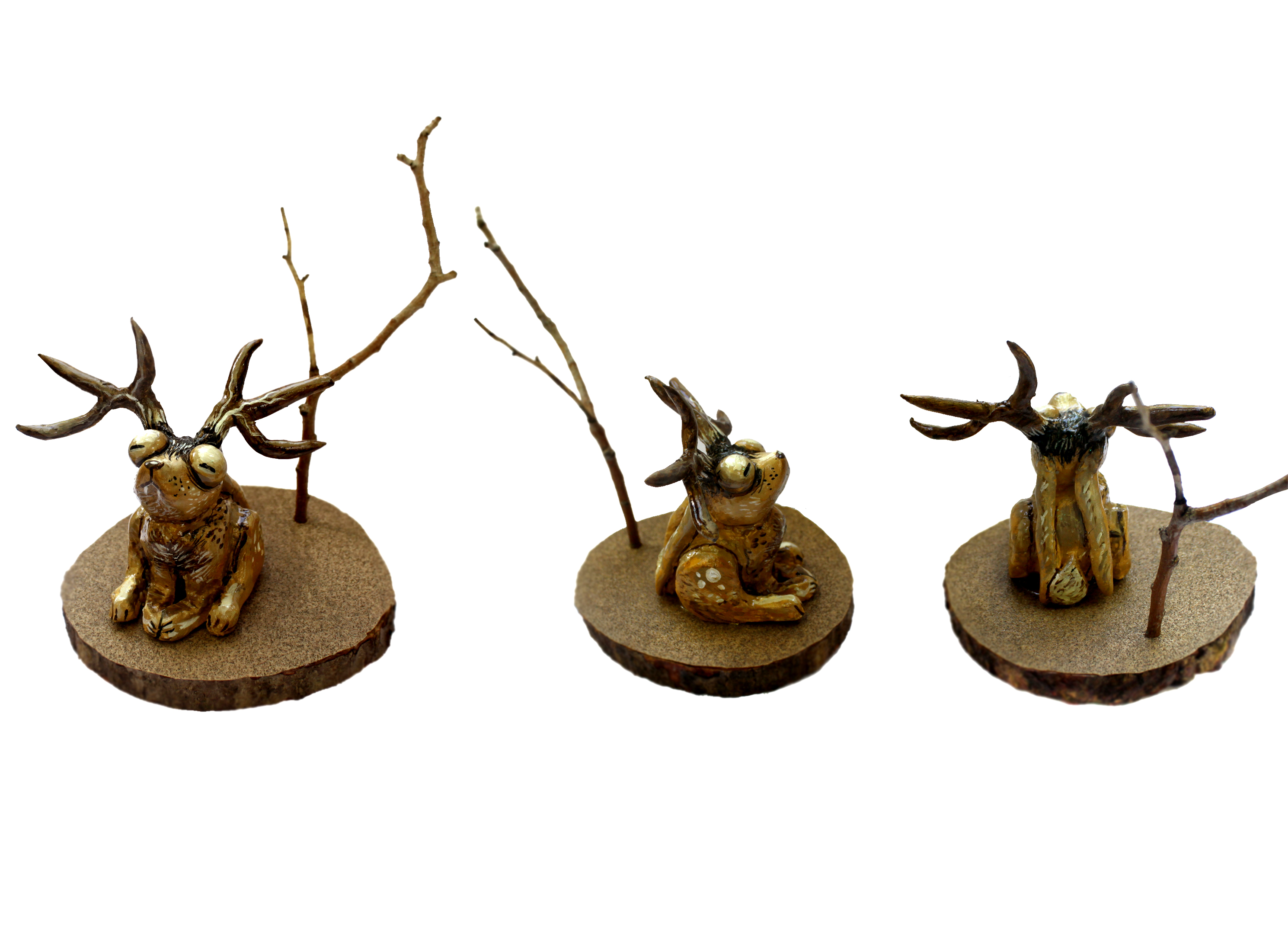 Jackalope Sculpture