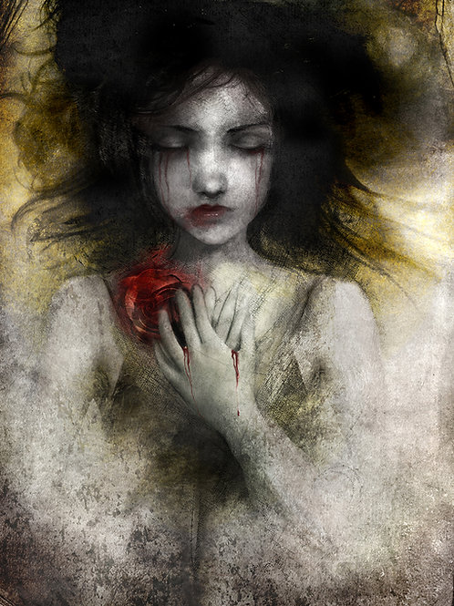 """Print - """"Snow White"""""""