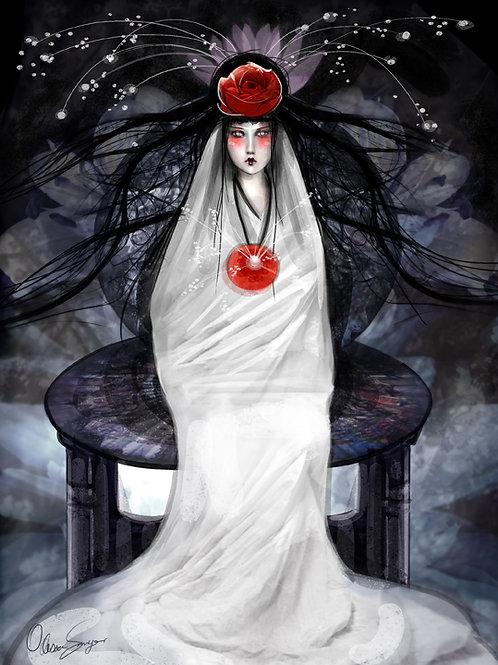 "Print - ""II- The High Priestess"""