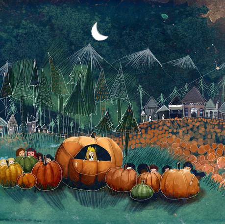 Queen of the Pumpkin Children