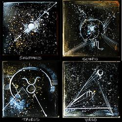 Zodiac Coasters