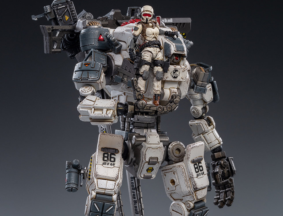 JoyToy God Of War 86 White Version Mecha Scale 1/25