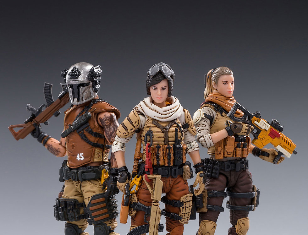 Joy Toy Wasteland Hunter 45th Legion 1/18 Scale Set