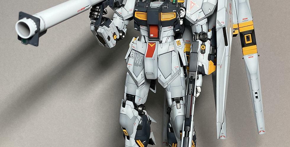 BANDAI Built & Painted RX-93 V Nu Gundam Version Ka 1/100 Master Grade