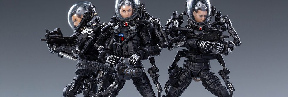 Joy Toy The Wandering Earth United Earth Government China Rescue Team 1/18 Scale
