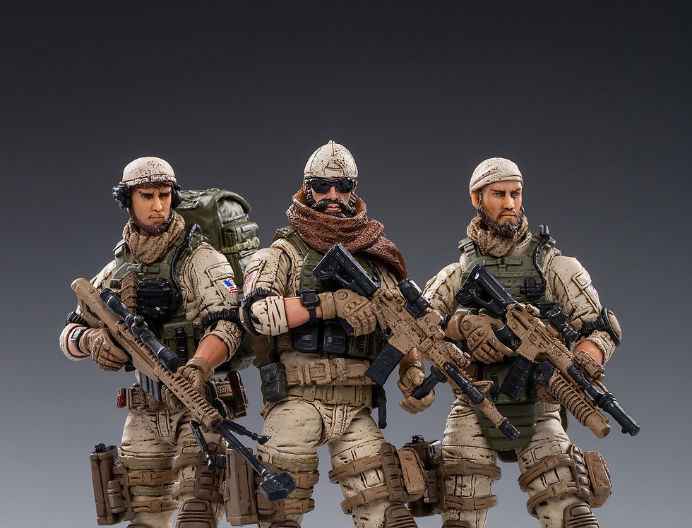Joy Toy U.S. Armed Forces Delta Force 1/18 Scale Set