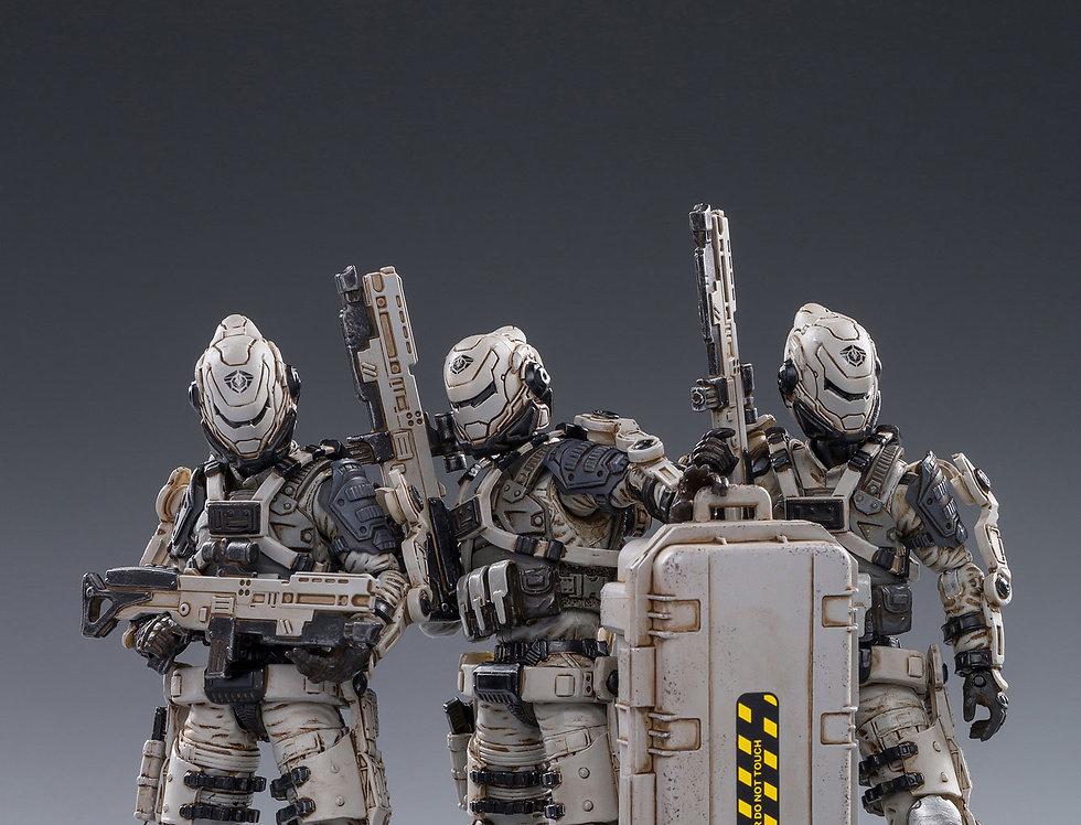 JoyToy War Stars Free Truism 20th Legion White Viper Squad 1/18 Scale Figure Set