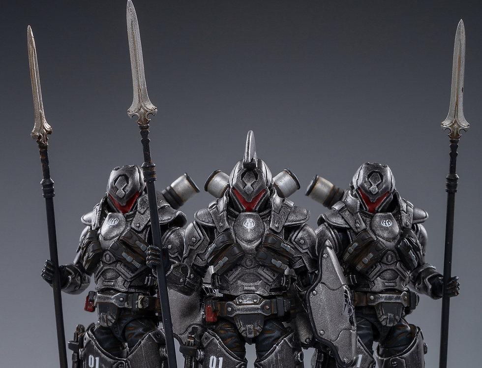 JOYTOY  01st Legion Steel Spear 1/18 Scale set of 3