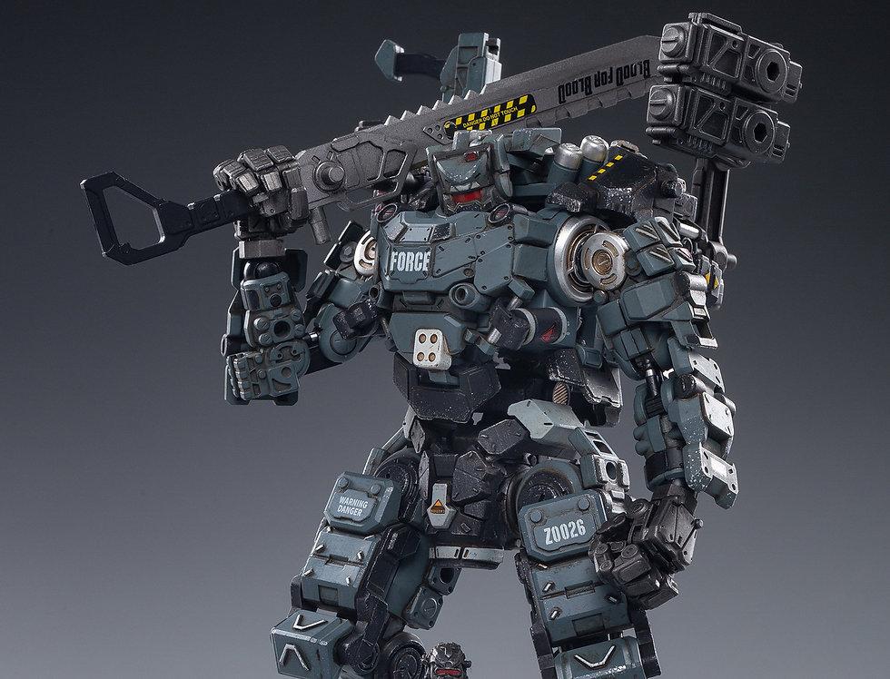 JoyToy Mecha Steel Bone Armor Gray Version 02 Scale 1/25