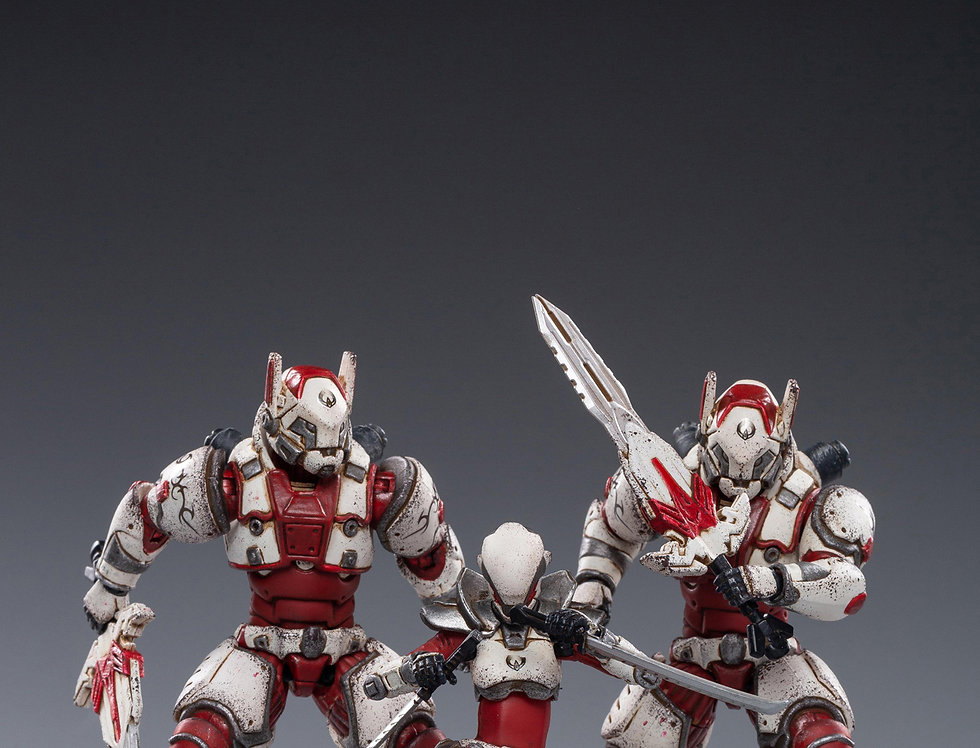 JOY TOY Saluk-White Flame Legion  1/18 Scale Set of 3