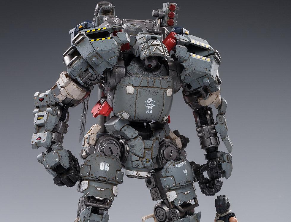 Joy Toy Steelbone Heavy Combat Machine Armor (H06) With Pilot 1/24 Scale