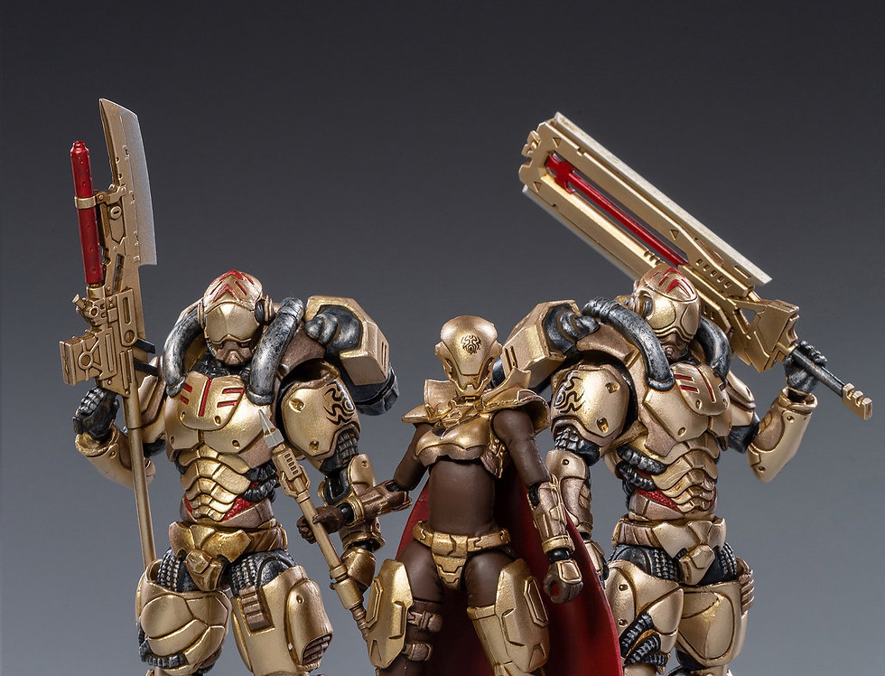 JOY TOY Saluk- Golden Legion  1/18 Scale Set of 3