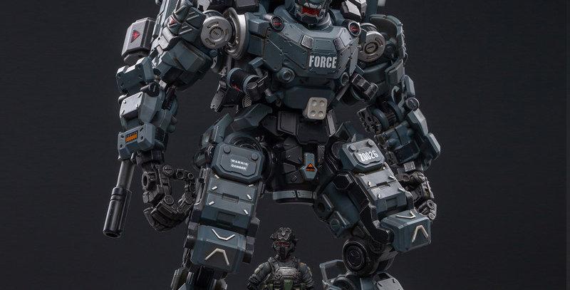 Joy Toy Dark Source Steelbone Armor (Classic) With Pilot 1/24 Scale Figure Set