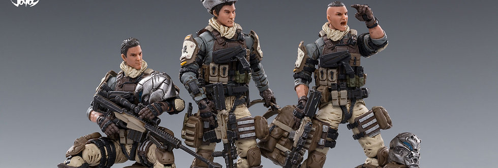 Joy Toy Hardcore Coldplay Desert Skull Field Squad 1/18 Scale