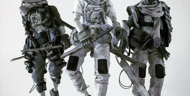 ThreeA 1/6 scale Tomorrow King Tomb Diver Set (12 inch)