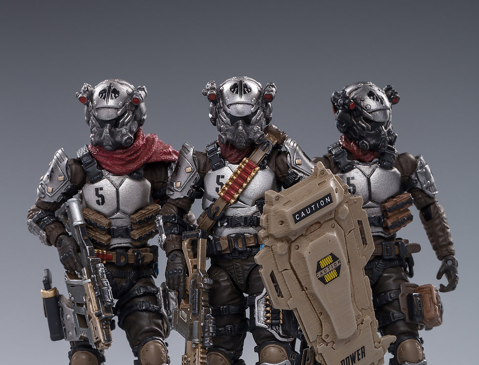 Joy Toy Hardcore Coldplay Skeleton Forces Hell's Fifth Company 1/18 Scale