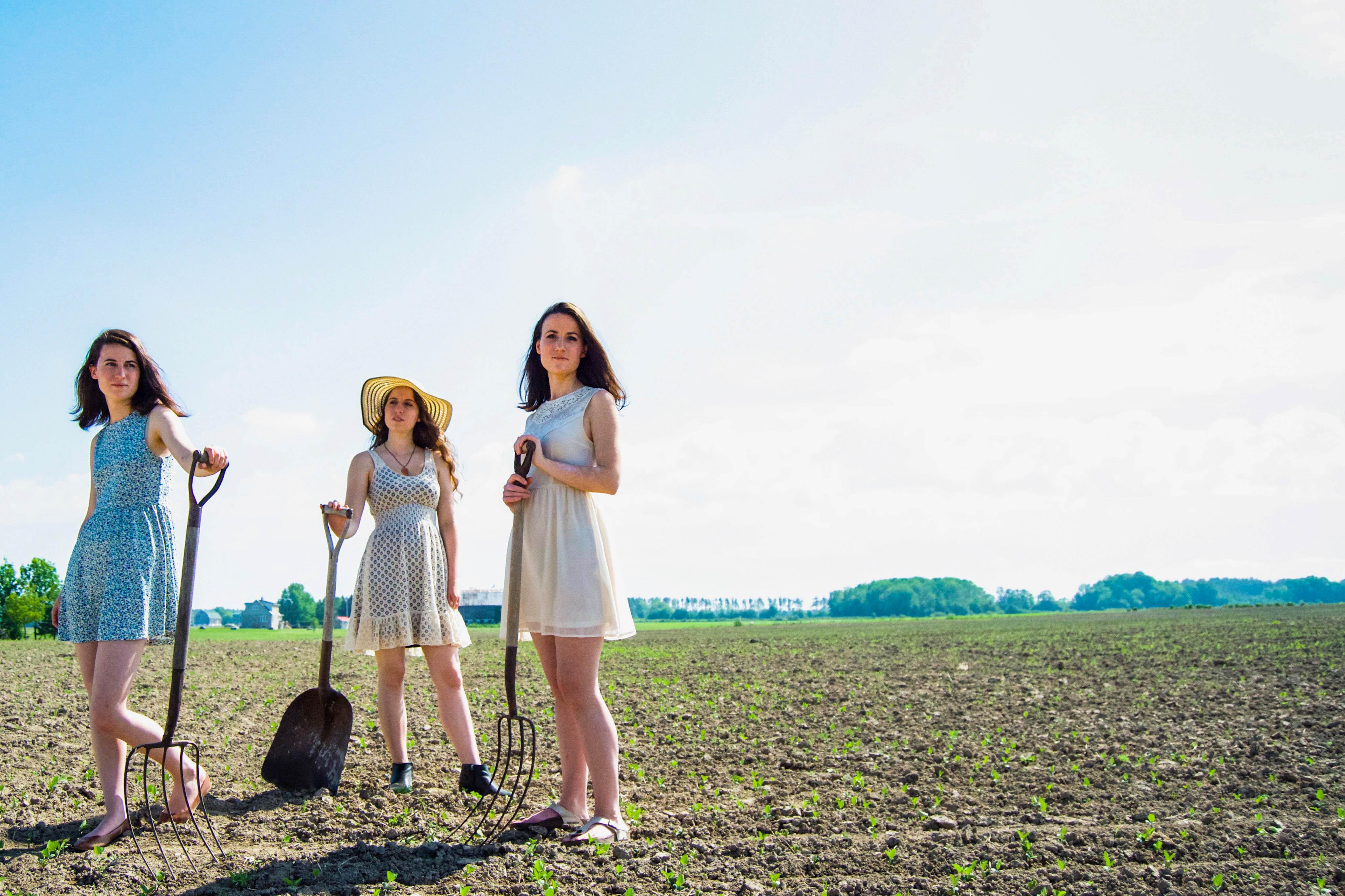 trois filles outils