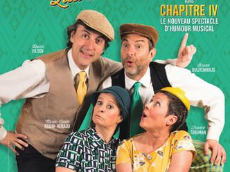 """""""Chapitre IV"""" du Barber Shop Quartet ...un nouvel opus qui décoiffe ! A savourer joyeuseme"""